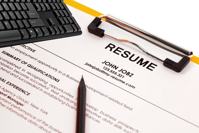 Resume In Folder  Resume Writing Jobs